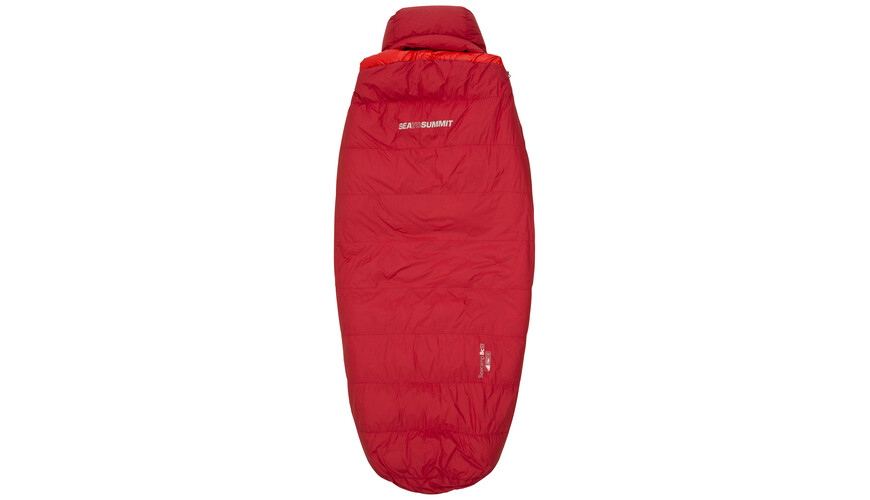 Sea to Summit BaseCamp BcIII - Sacos de dormir - regular rojo